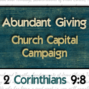 Abundant Giving Church Capital Campaign Logo SM