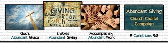 Logo for Abundant Giving Church Capital Campaign